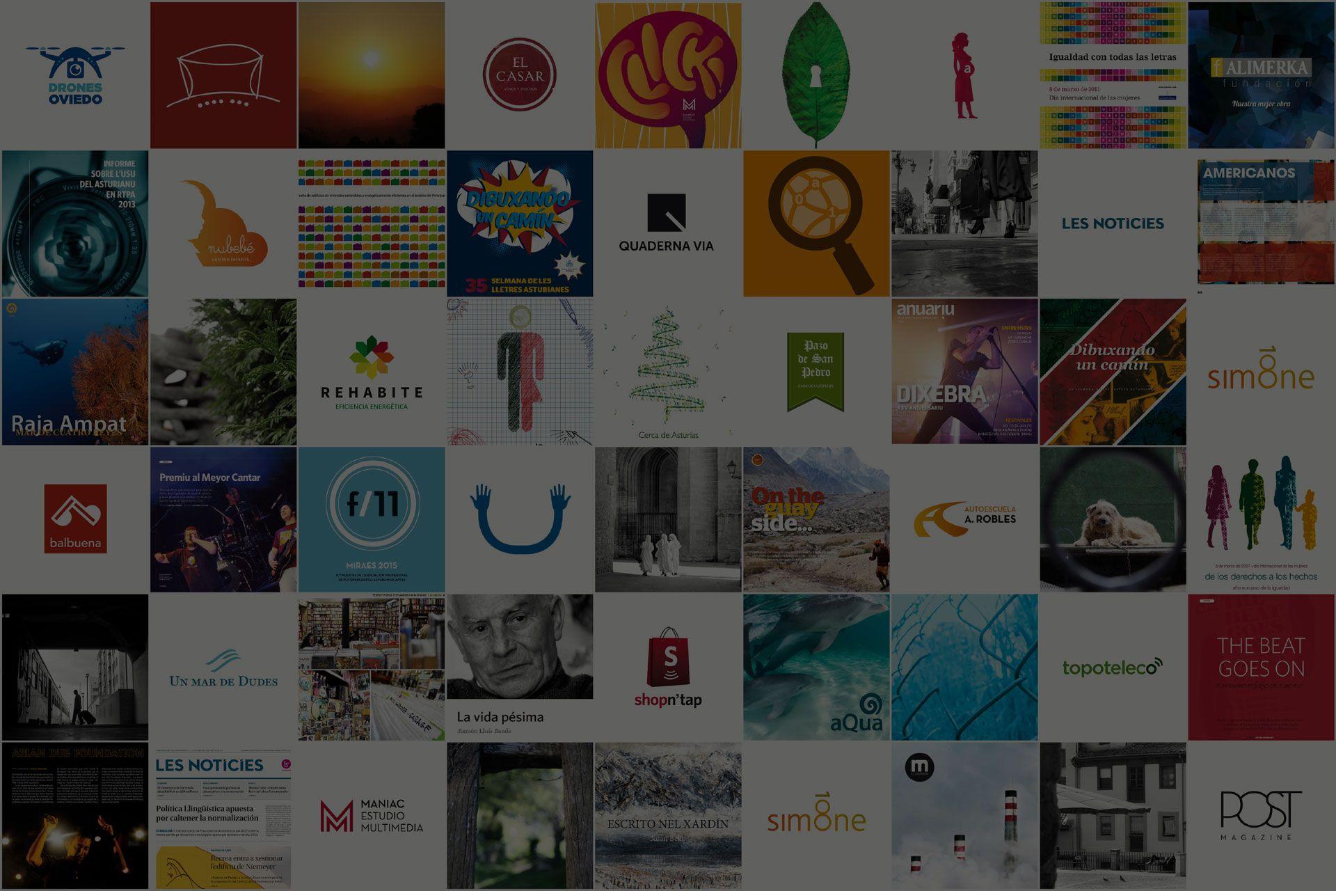 Diseños que huyen del ruido y se centran en el mensaje