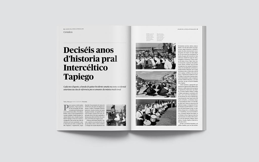 Reportaje del Anuariu de la Música 2012