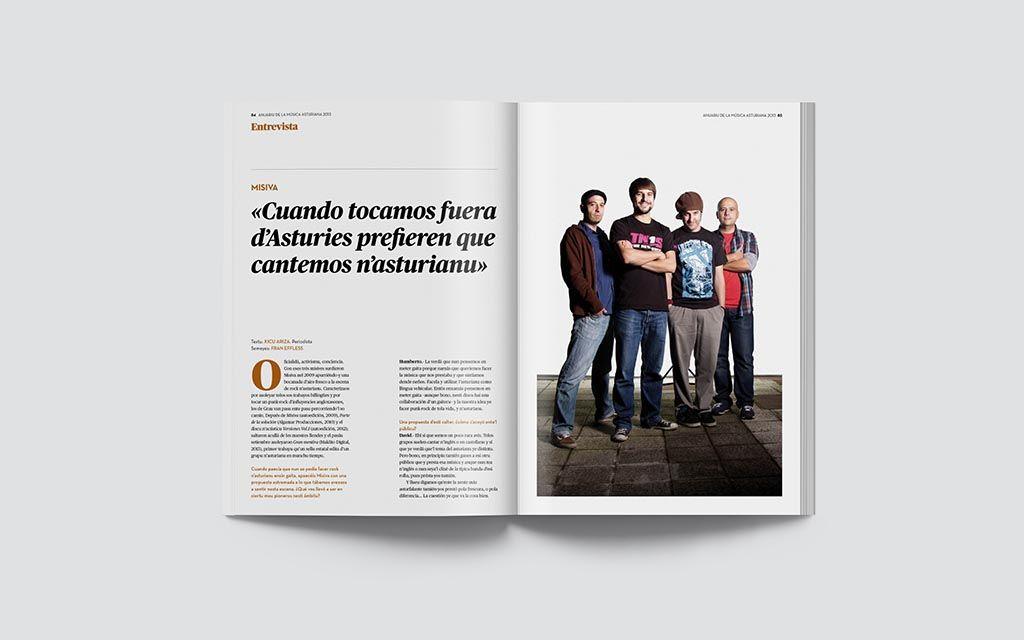 Entrevista de la Música Asturiana 2013