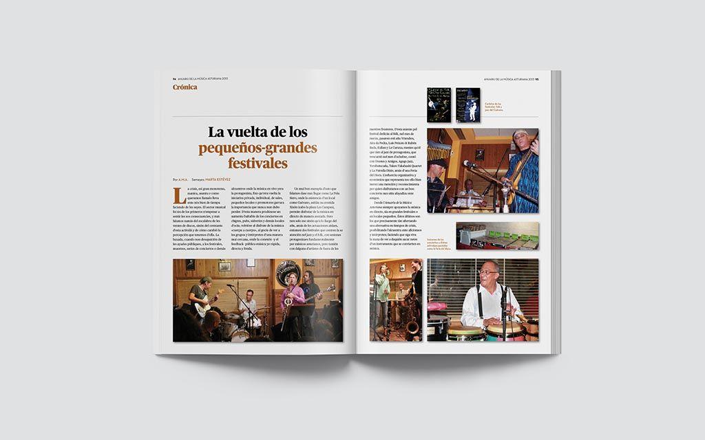 Reportaje de la Música Asturiana 2013