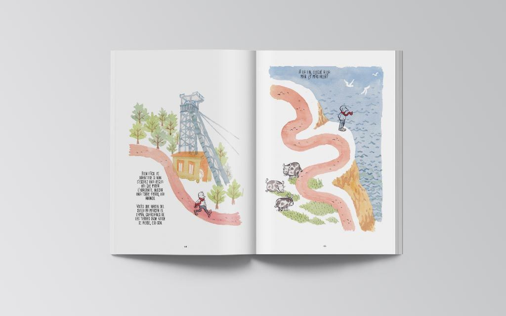 Libro Dibuxando un Camín Alfonso Zapico