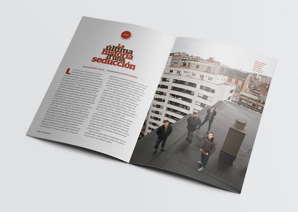 Artículo de la revista Post Magazine