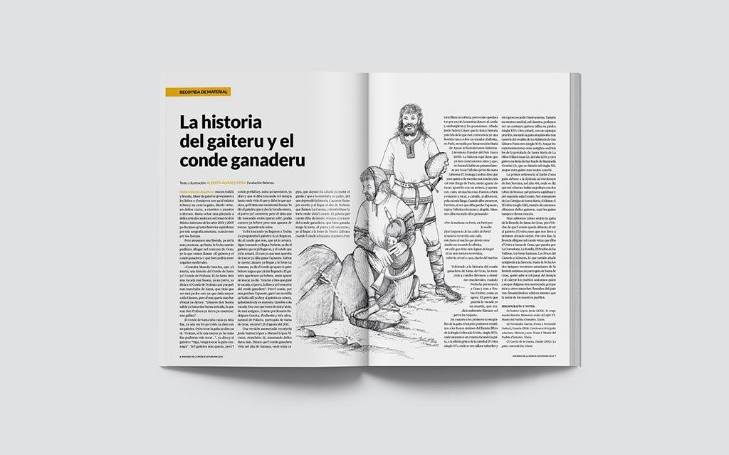 Artículo del Anuariu de la Música Asturiana 2014