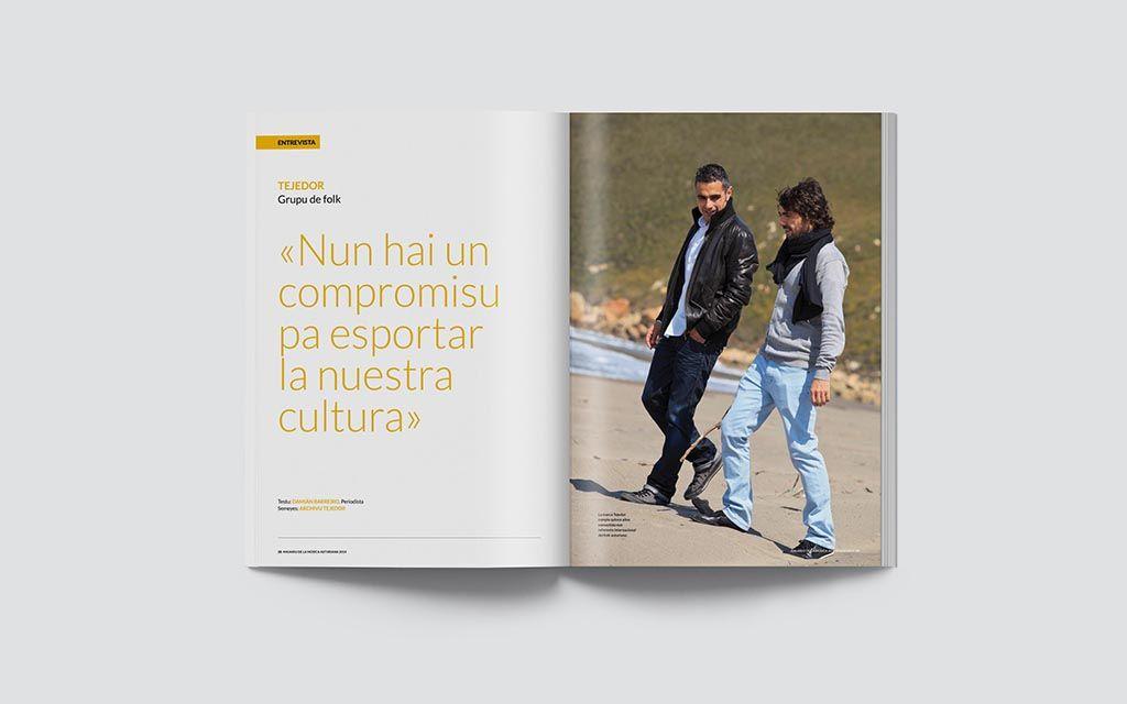 Entrevista del Anuariu de la Música Asturiana 2014