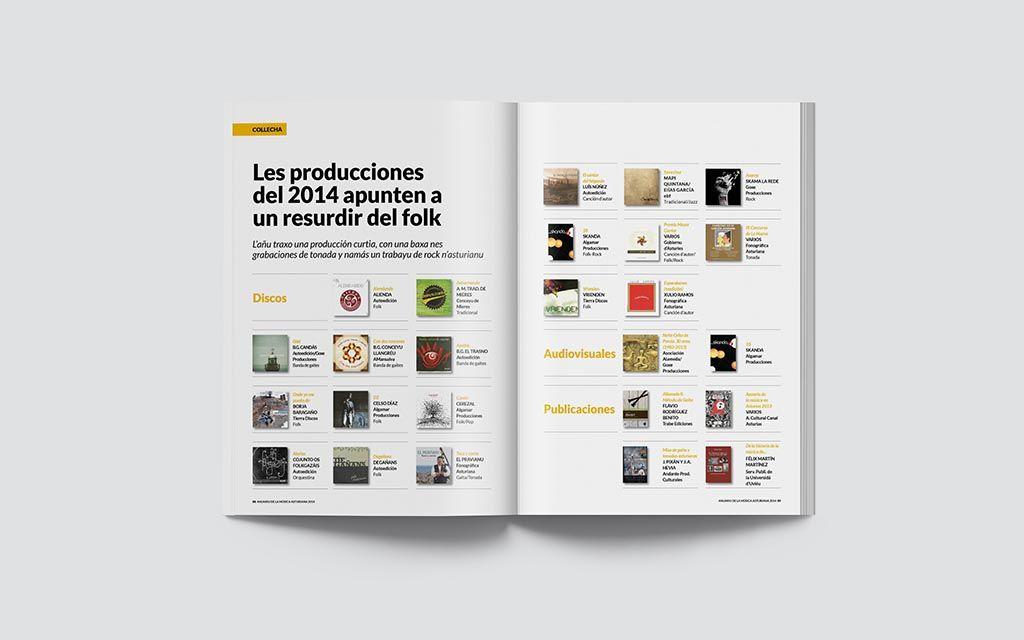 Discos del Anuariu de la Música Asturiana 2014