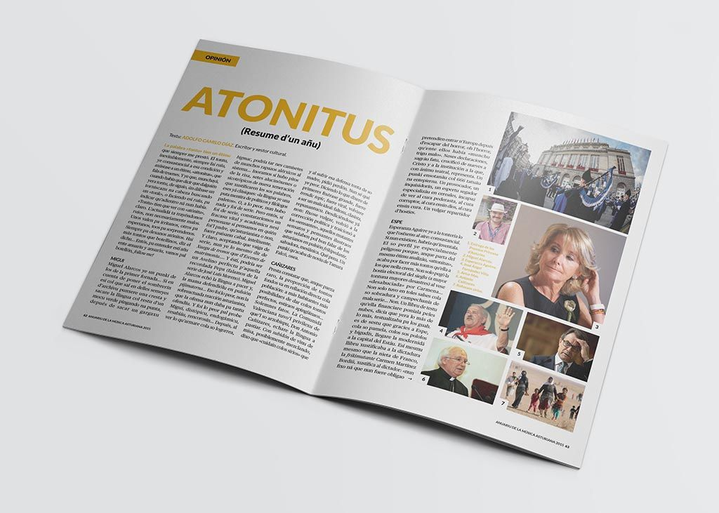 Reportaje del Anuariu de la Música Asturiana 2015