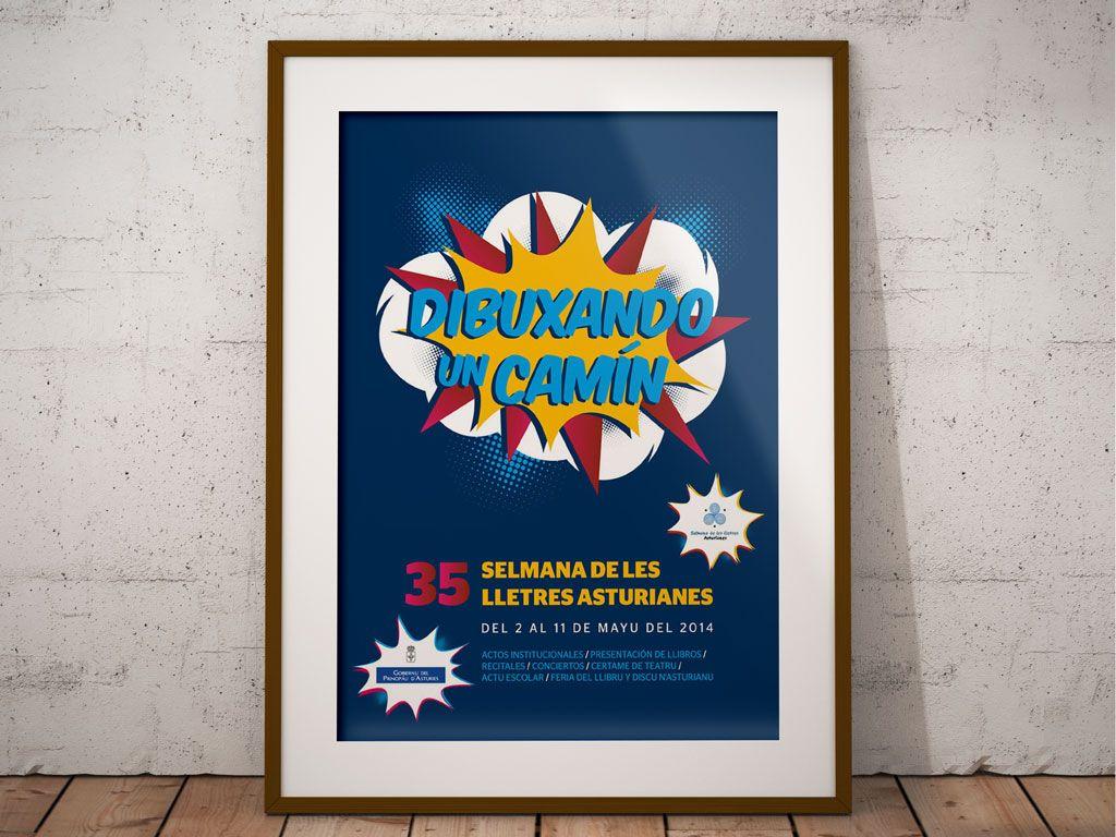 Imagen Dibuxando un Camín - 35 Selmana de les Lletres Asturianes - Gobierno del Principado de Asturias