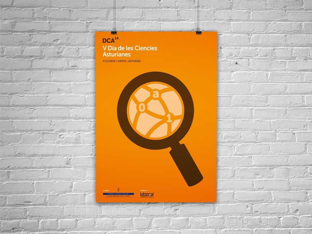 Cartel V Día de les Ciencies Asturianes