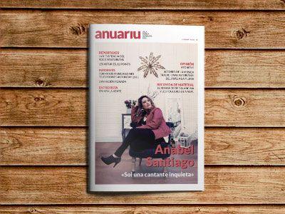 Portada del Anuariu de la Música Asturiana 2015