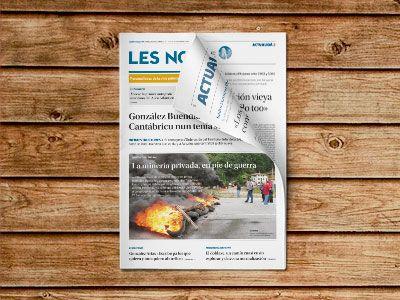 Portada Semanario Les Noticies