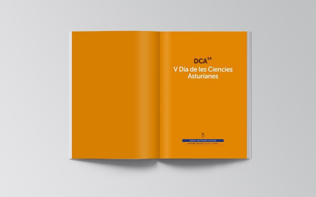 Libro en asturiano del V Día de les Ciencies Asturianes