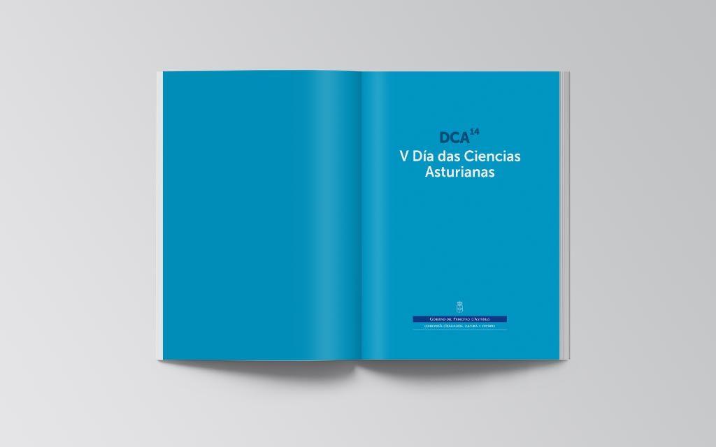 Libro en gallego-asturiano del V Día de les Ciencies Asturianes