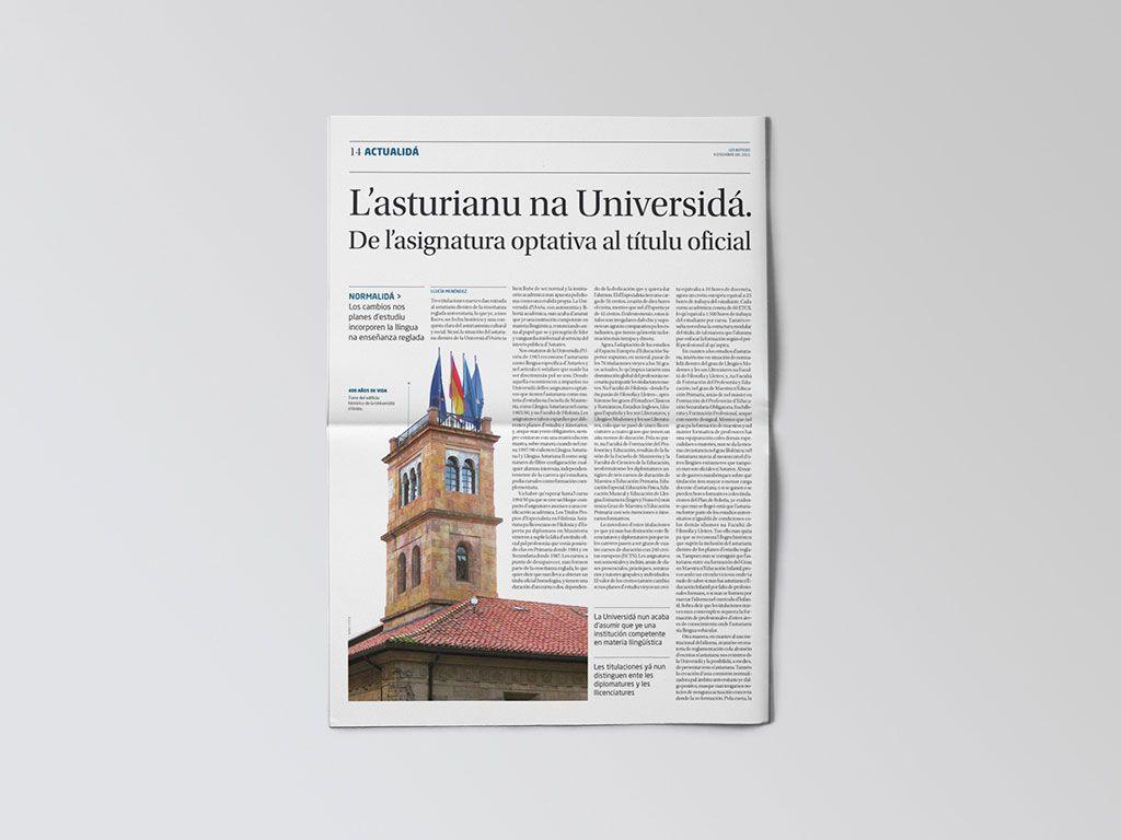 Artículo de la Universidad en Les Noticies