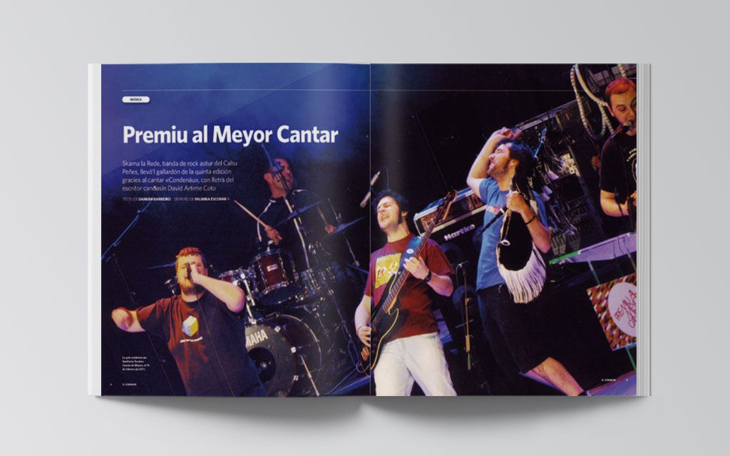 Artículo de la revista El Súmmum 2012