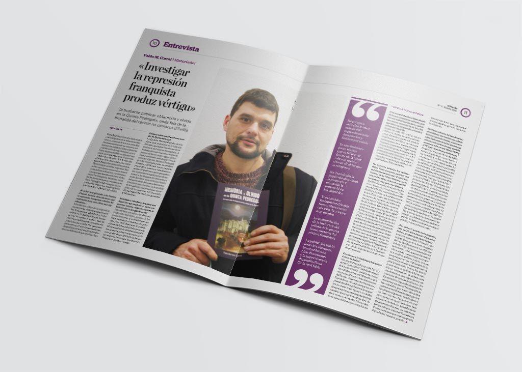 Entrevista de la revista El Parche editada por Somos Avilés