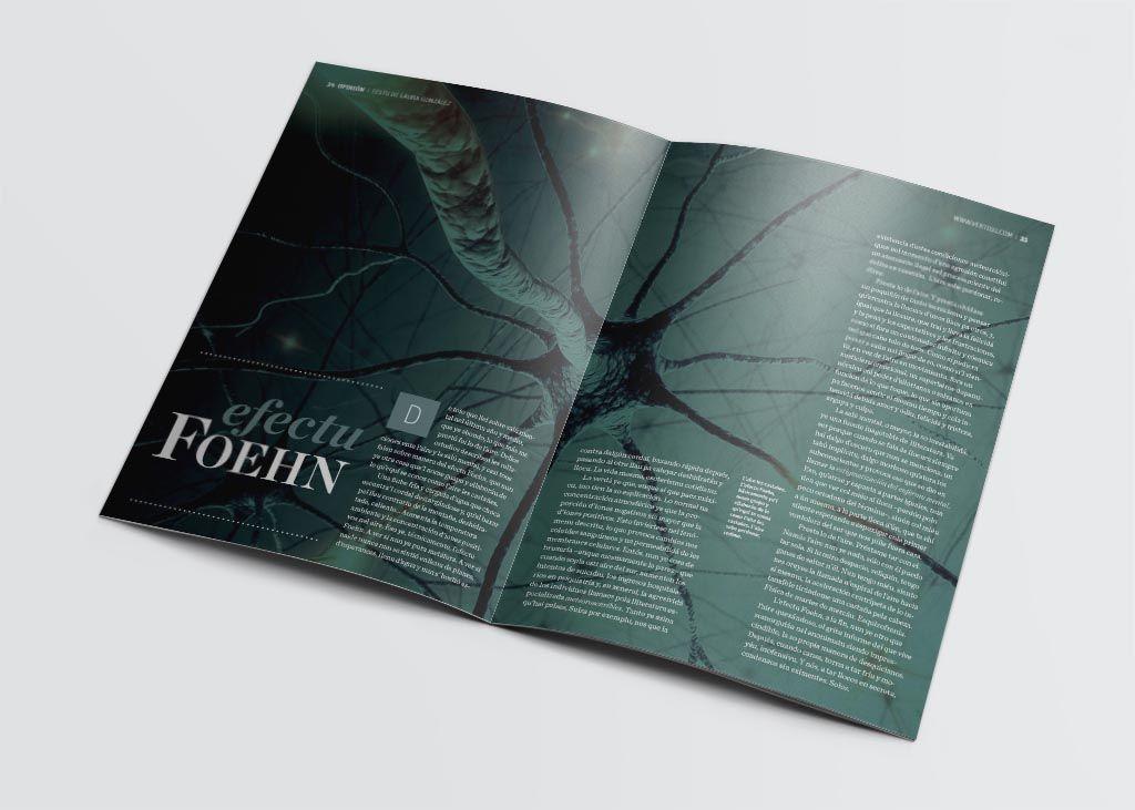 Artículo sobre el efecto fohen de la revista Vërtigu