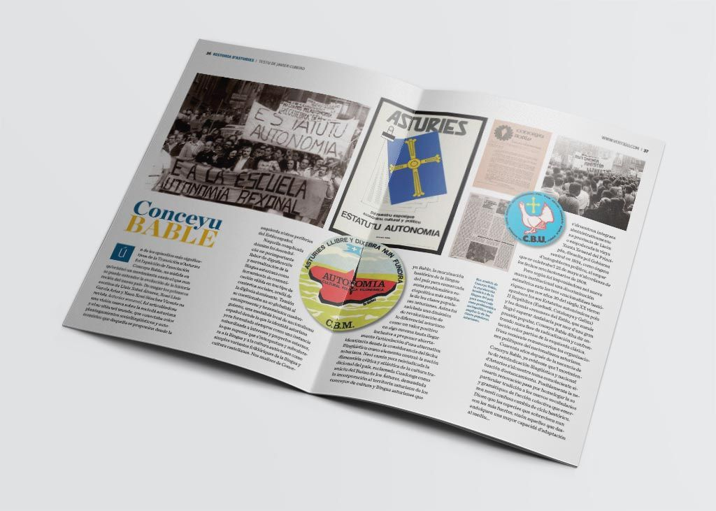 Artículo sobre conceyu bable de la revista Vërtigu