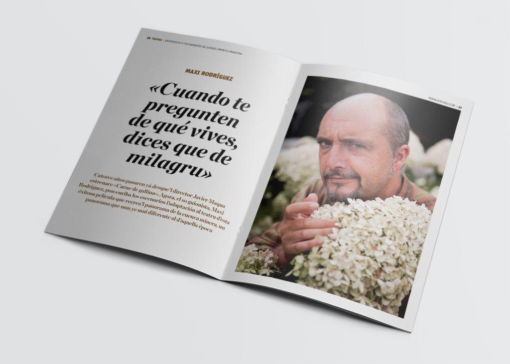 Entrevista a Maxi Rodríguez de la revista Vërtigu