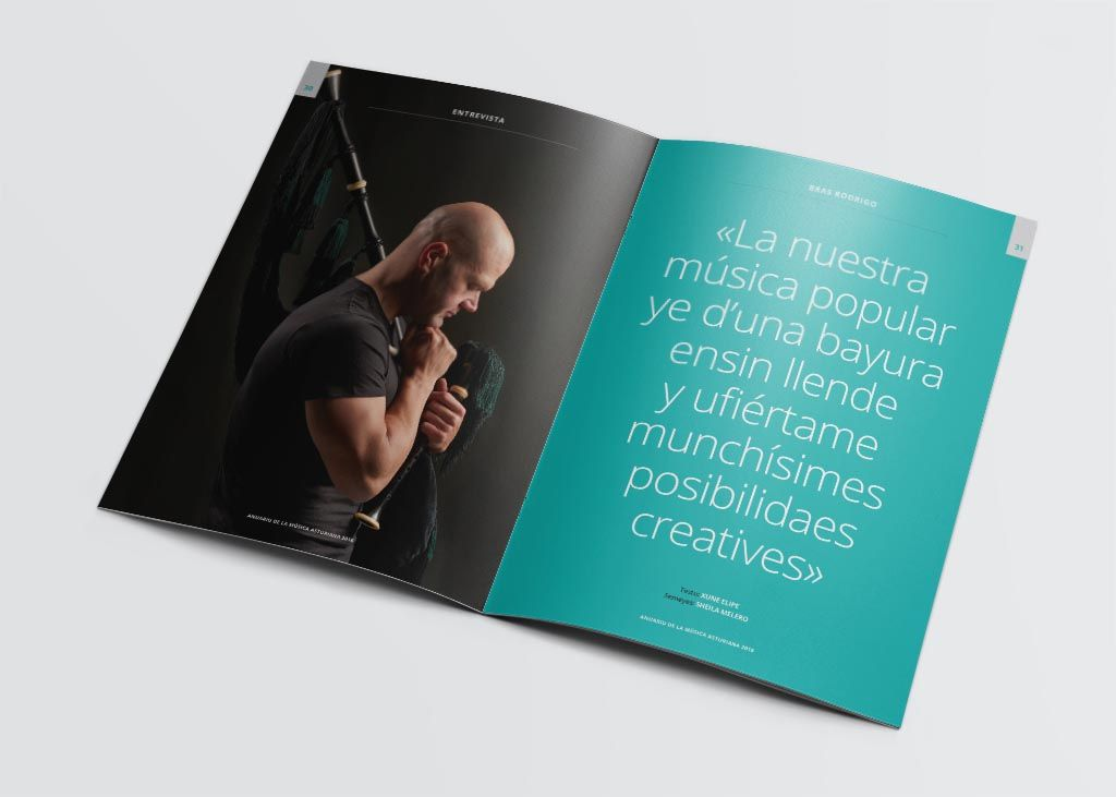 Entrevista a Bras Rodrigo del Anuariu de la Música Asturiana 2016