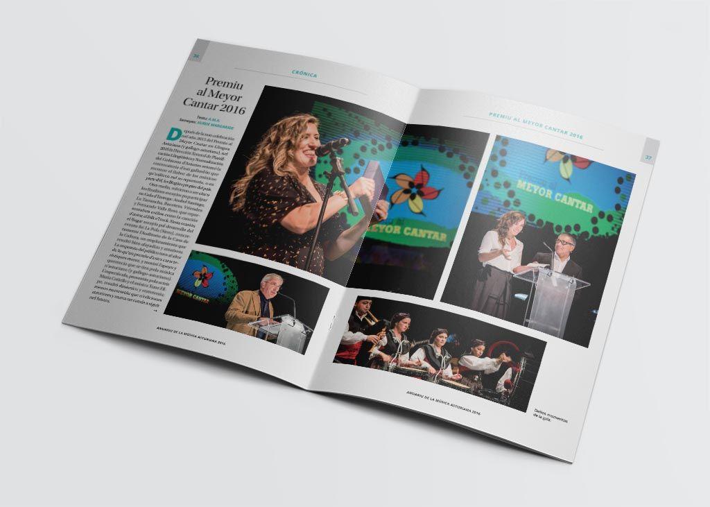 Reportaje Premiu al Meyor Cantar del Anuariu de la Música Asturiana 2016