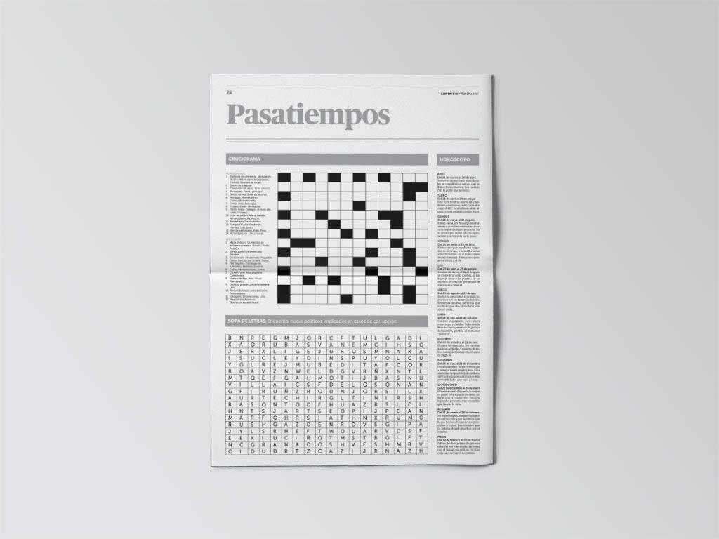 Pasatiempos del periódico L'Esperteyu