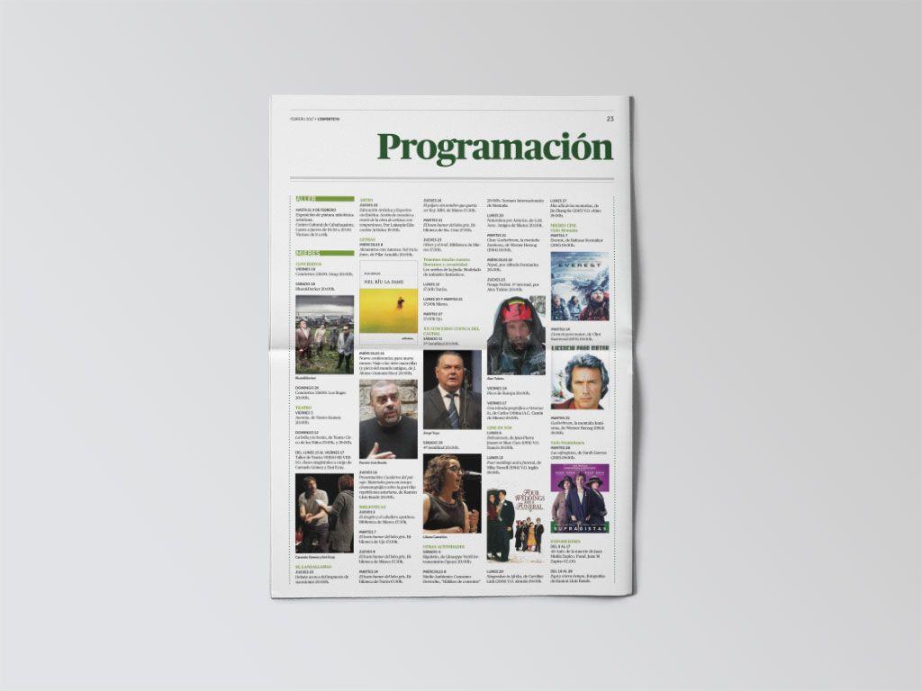 Programación cultural del periódico L'Esperteyu