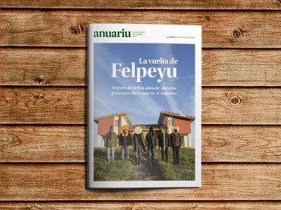 Portada del Anuariu de la Música Asturiana 2017