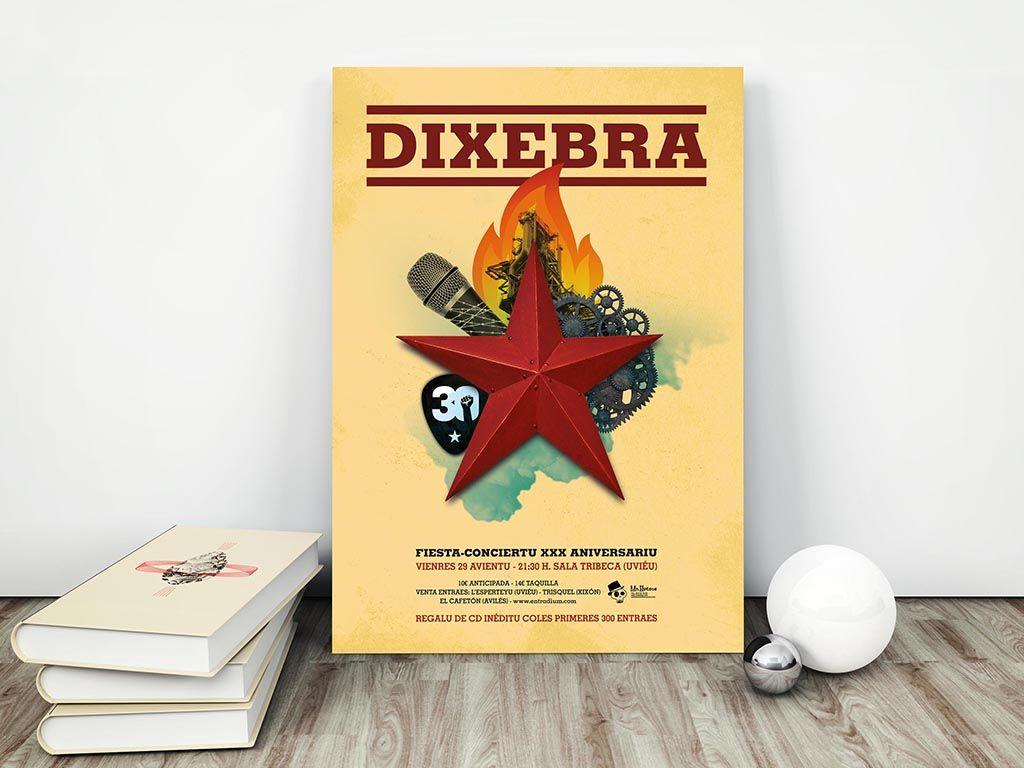 Cartel fin de Gira Dixebra